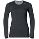 Odlo W's Revolution Warm L/S Crew Neck Black Melange